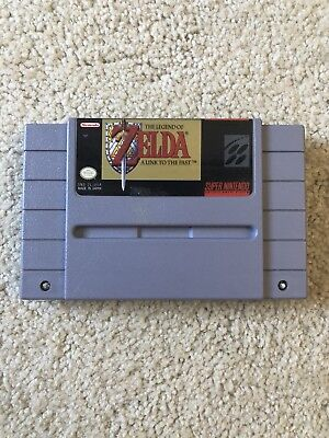 The Legend of Zelda: A Link To The Past (Super Nintendo, SNES) Authentic Tested