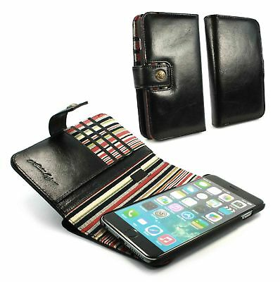Alston Craig Personalised leather Magnetic wallet case cover iPhone 6 Plus