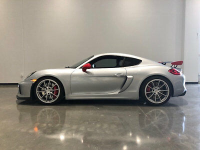 2016 Porsche Cayman 2dr GT4 2016 Porsche Cayman GT4 GT-4 with Low Miles / Good Options CNC Motors Upland CA
