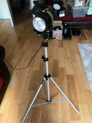 Portaflash 336VM Studio Light with Stand and Snoot