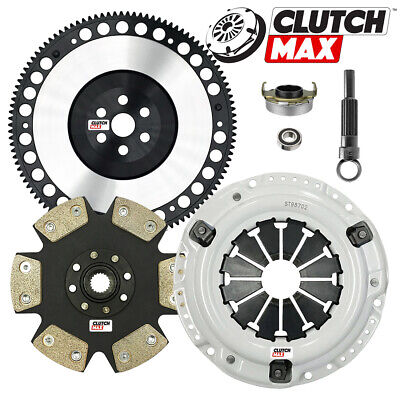CM STAGE 4 HD CLUTCH KIT+LIGHTWEIGHT RACE FLYWHEEL for 92-05 CIVIC D15 D16 D17