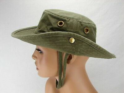 fa20692a Tilley T3 Wanderer Snap Up Safari Fishing Hunting Boonie Hat | Olive Green  | 7