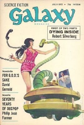 Galaxy Science Fiction (pulp/digest) #Vol. 33 #1 1972 GD/VG 3.0 Stock Image