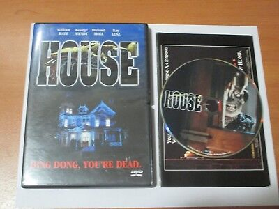 House (DVD, 2002) EX+ Shape, OOP! w/ Insert. Anchor Bay, Horror