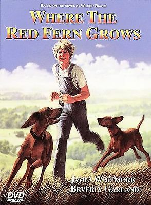 (1A2) Where the Red Fern Grows DVD Brand New and factory sealed free shipping
