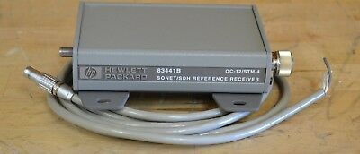 HP Agilent 83441B Lightwave Reference Receiver w/Power Cable, OC12/STM-4
