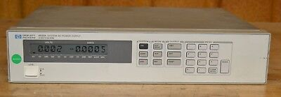 HP Agilent 6632A DC Power Supply 0-20V, 0-5A, 100W Five Available GOOD