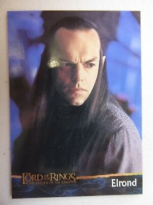 TOPPS Card : LOTR The Return Of The King  #16 ELROND