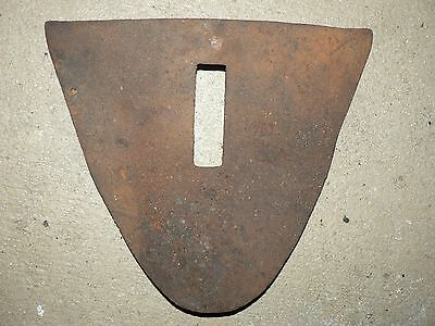 Vintage Antique Solid Steel Metal Walking Farm Horse Plow Blade Sullivan  Cole