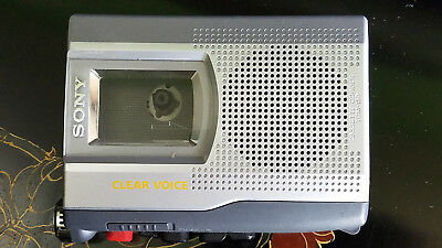 Sony TCM-150 Cassette-Corder Handheld Recorder Player Clear Voice