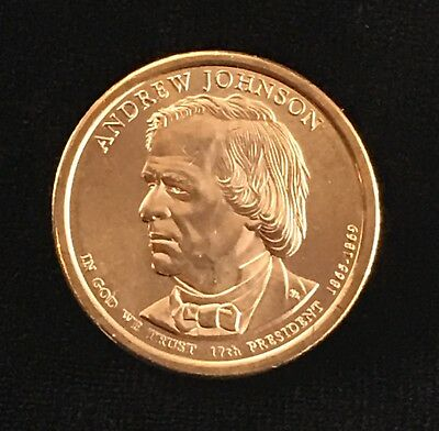 2011 D Andrew Johnson Presidential Uncirculated Dollar Coin