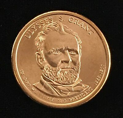 2011 D Ulysses S. Grant Presidential Uncirculated Dollar Coin