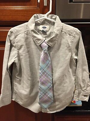 old navy / gymboree  shirt and tie