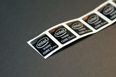 I7 Vpro Small Intel Core i7 Vpro Sticker/Sticker Brand New Ausde