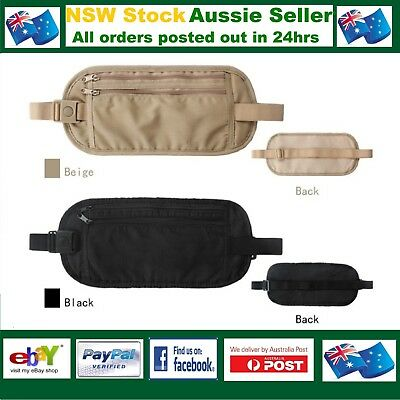 Travel Waist Bum Bag Anti Theft Pouch Belt Passport Holder Safe Strap Sport