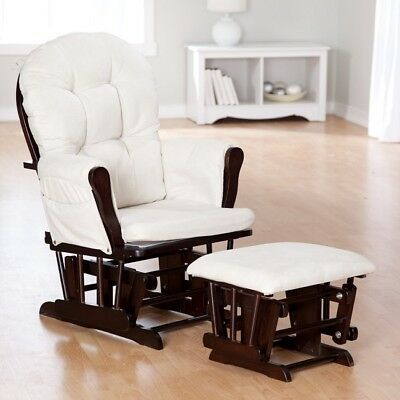 Awesome Rocking Chair Glider Gliding Chairs Nursery With Ottoman Gmtry Best Dining Table And Chair Ideas Images Gmtryco