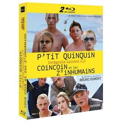 Blu-ray P'tit Quinquin + Coin coin et les Z'inhumains (4 Bluray) [Blu-ray] - Ala