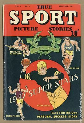 True Sport Picture Stories Vol. 4 #3 1947 GD/VG 3.0