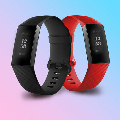 For Fitbit Charge 3 Replacement Wristband Wrist Strap Smart Bracelet Watch Band