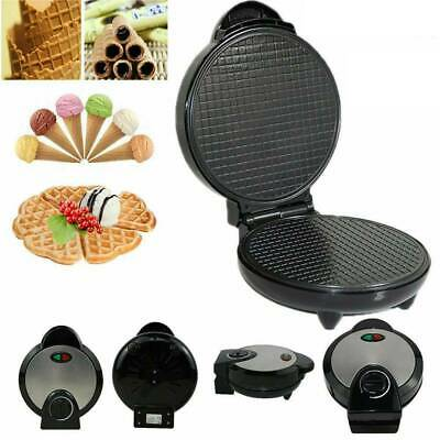 Multi-functional Electric Waffle Cone Maker Cone Form Homemade Household Muffin