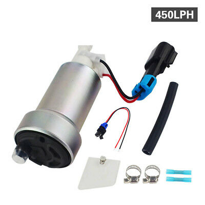 460LPH E85 In-Tank Fuel Pump+FITTING KIT FOR TOYOTA 2JZ80 WALBRO Genuine
