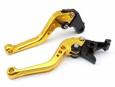 GOLD Clutch Brake CNC LEVER for ZX636R ZX6R ZX636R ZX6RR ZX10R Z1000 ZZR600 ZX12