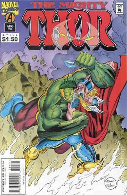 Thor (1st Series Journey Into Mystery) #489 1995 VG Stock Image Low Grade