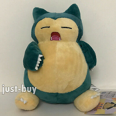 Pokemon Go Snorlax Plush Soft Toy Stuffed Animal Doll Teddy 8""