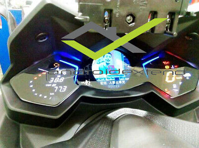 Kymco Ak550 Dashboard Anti-Scratch Protective Plastic Cover