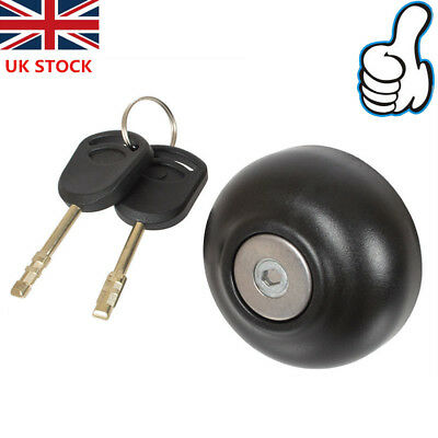 Anti Theft Locking Fuel Cap Cover w/ Two Key for Ford Transit MK7 06-18 1715043
