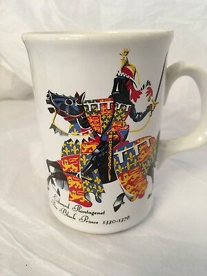 The Black Prince Edward Plantagenet Prince Of Wales Mug