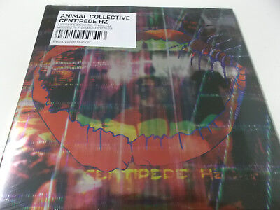 44537 - Animal Collective - Centipede Hz - Ltd. Ed. 1St Press Cd Album - Neu!