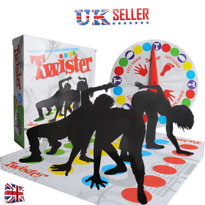 Funny Twister The Classic Family Kids Children Party Body/Game With 2 More Moves