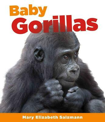 Baby Gorillas by Mary Elizabeth Salzmann (English) Library Binding Book Free Shi