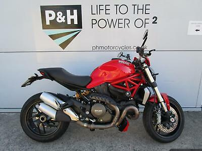Ducati Monster 1200 with service history