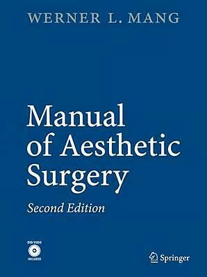 Manual of Aesthetic Surgery by Werner Mang (English) Hardcover Book Free Shippin