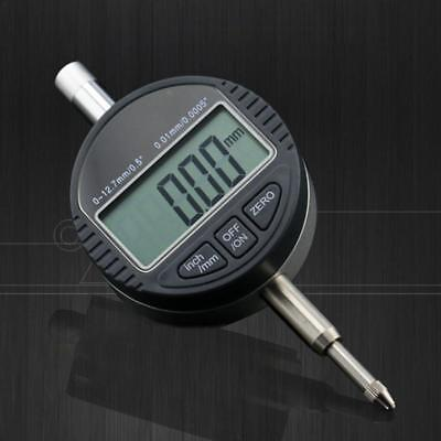 Electronic Digital Dial Test Indicator Precision Measure Probe Gauge 0-12.7mm