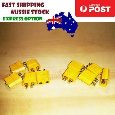 4pcs 10pcs XT60 XT-60 Connectors Male + Female Bullet Plugs For RC LiPo Battery