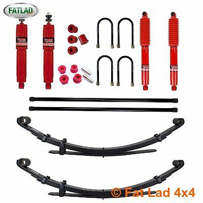 ISUZU RODEO 2008-2012 Pedders Suspension Package / Lift Kit (Fitted Price)