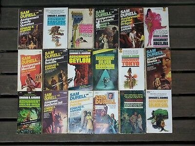 Lot of 16 Assignment Paperbacks by Edward S. Arrons.