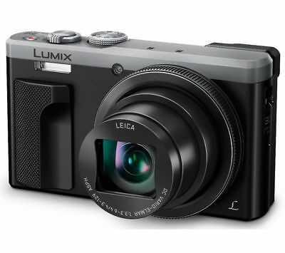 Panasonic Lumix DMC-TZ80 Digital Camera 18.1MP 60 x Zoom 4K 3-Inch LCD Silver
