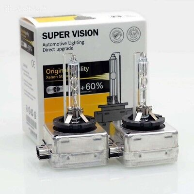 4300k D1S D1R D1C HID Bulbs Xenon Low Beam Headlight Pair 2 Bulb 4300 k 35w 4G