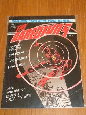 Daredevils #3 Marvel British Monthly March 1983 (B)^