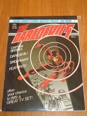 Daredevils #3 Marvel British Monthly March 1983 (E)^
