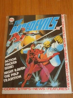 Daredevils #9 Marvel British Monthly September 1983 Nice Condition (B)^