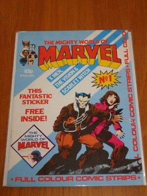 Mighty World Of Marvel Vol 2 #1 British Monthly June 1983 No Gift (D)^
