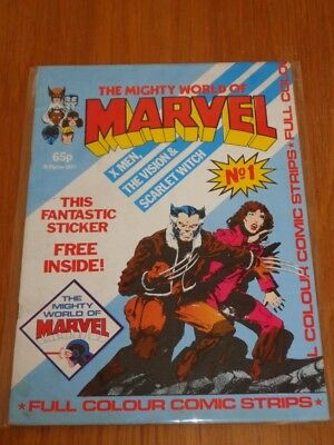 Mighty World Of Marvel Vol 2 #1 British Monthly June 1983 No Gift (F)^