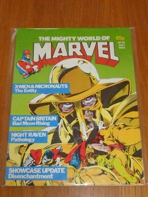Mighty World Of Marvel Vol 2 #14 British Monthly July 1984 (B)^