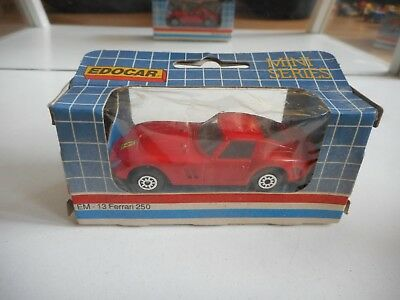Edocar Ferrari 250 in Red in Box