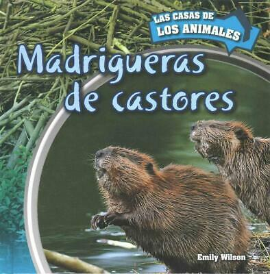 Madrigueras de Castores (Inside Beaver Lodges) by Emily Wilson (Spanish) Hardcov